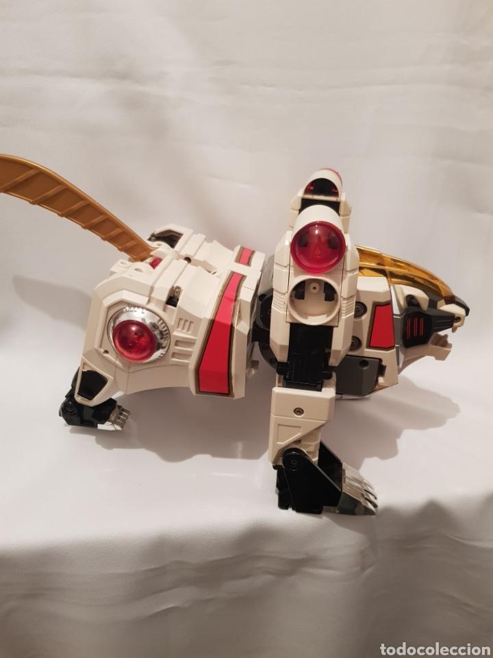 Figuras y Muñecos Power Rangers: Robot de power rangers tigrezord - Foto 3 - 286731798