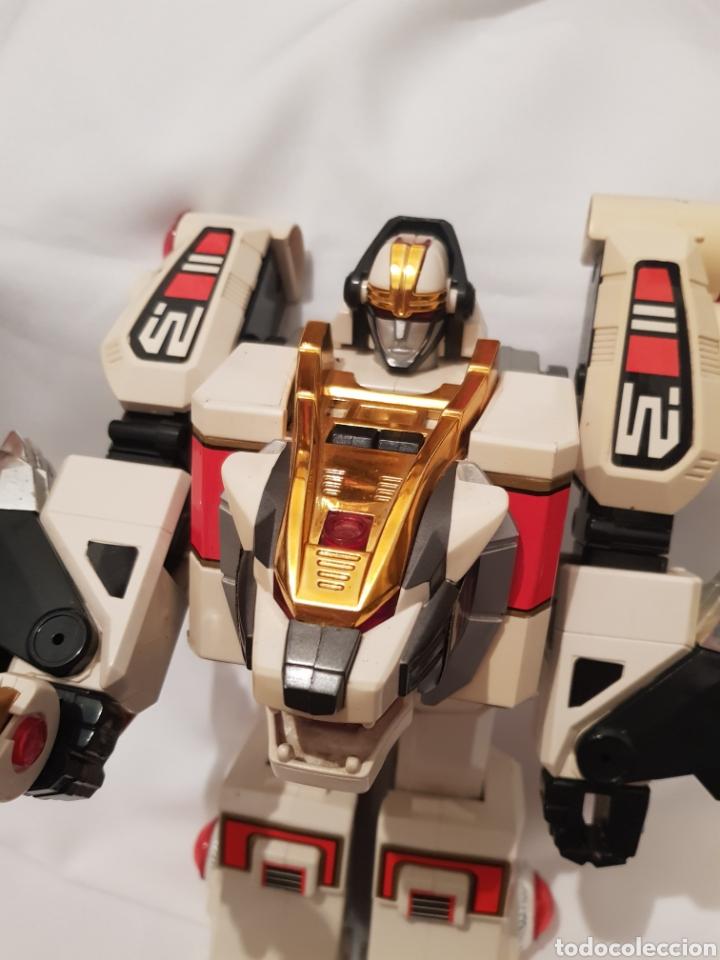 Figuras y Muñecos Power Rangers: Robot de power rangers tigrezord - Foto 5 - 286731798