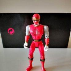 Figuras y Muñecos Power Rangers: FIGURA ARTICULADA POWER RANGER ROJO BANDAI 2002 BUEN ESTADO EN GENERAL 14 CM. Lote 286936653