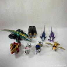 Figurines et Jouets Power Rangers: LOTE FIGURAS TRANSFORMERS - POWER RANGER ZORD - BANDAI - VER DESCRIPCIÓN. Lote 287355503