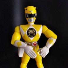 Figurines et Jouets Power Rangers: RANGER AMARILLO (YELLOW) GOLPE DE KARATE - POWER RANGERS 1º SERIE 1993 MIGHTY MORPHIN - 22 CM.. Lote 287496898