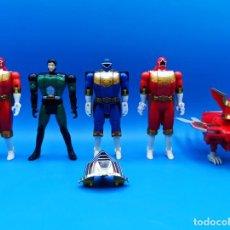 Figuras y Muñecos Power Rangers: LOTE DE POWER RANGERS BANDAI 96. Lote 287803298