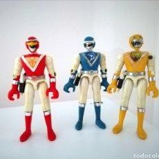 Figuras y Muñecos Power Rangers: BIOMAN 3 LIVEMAN. BANDAI.. Lote 288734598