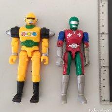 Figuras y Muñecos Power Rangers: LOTE FIGURAS ACCIÓN BOOTLEG POWER RANGERS BIOMAN BETTLEBORGS BANDAI. Lote 288974518