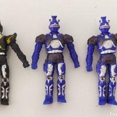 Figuras y Muñecos Power Rangers: LOTE FIGURAS ACCIÓN BANDAI 1995 POWER RANGERS FIGURA MUÑECO BIOMAN BETTLEBORGS. Lote 289020743