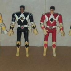 Figurines et Jouets Power Rangers: LOTE 6 FIGURAS POWER RANGER BANDAI TODAS FUNCIONANDO 1993. Lote 290084183