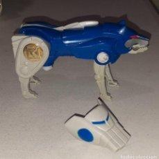 Figuras y Muñecos Power Rangers: 1995 BANDAI MIGHTY MORPHIN POWER RANGERS DELUXE NINJA MEGAZORD BLUE WOLF ZORD. Lote 290133953