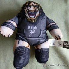 Figuras y Muñecos Pressing Catch: MINI PELUCHE DE TRIPLE H - BURGER KING AND WWE. Lote 33428145