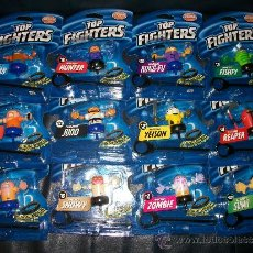 Figures and Dolls Pressing Catch - LOTE 12 TOP FIGHTERS - BIZAK - PRECINTADOS - Nº DEL 1 AL 12 - 47114261