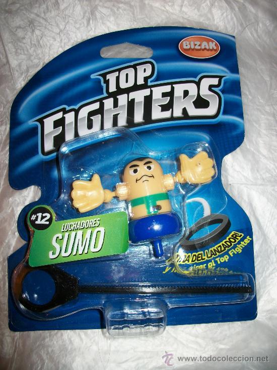 TOP FIGHTERS - BIZAK - PRECINTADO - Nº 12 - SUMO (Juguetes - Figuras de Acción - Pressing Catch)