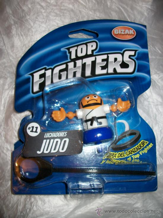 TOP FIGHTERS - BIZAK - PRECINTADO - Nº 11 - JUDO (Juguetes - Figuras de Acción - Pressing Catch)