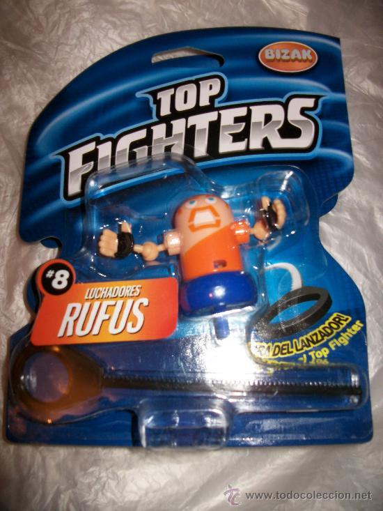 TOP FIGHTERS - BIZAK - PRECINTADO - Nº 8 - RUFUS (Juguetes - Figuras de Acción - Pressing Catch)