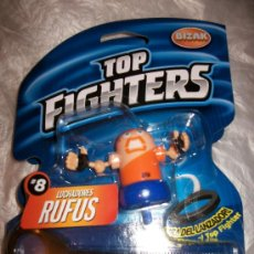 Figuras y Muñecos Pressing Catch: TOP FIGHTERS - BIZAK - PRECINTADO - Nº 8 - RUFUS. Lote 34389715