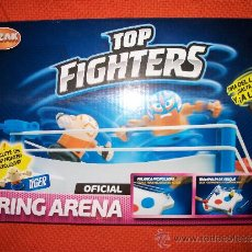 Figures and Dolls Pressing Catch - TOP FIGHTERS - RING ARENA - CON FIGURA EXCLUSIVA - SIN ABRIR - RING DE COMBATE MULTIFUNCION - 34616357