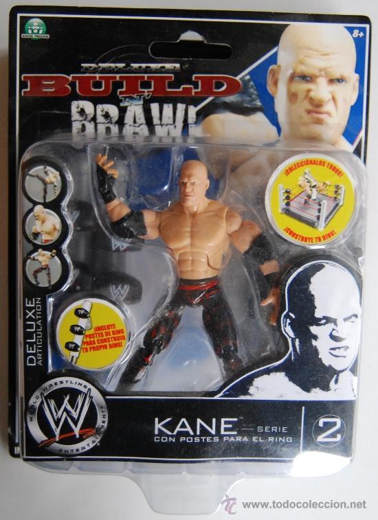 KANE DELUXE BUILD N' BRAWL WWE WRESTLING HERMANOS DE LA DESTRUCCION EL ENTERRADOR THE UNDERTAKER WWF (Juguetes - Figuras de Acción - Pressing Catch)