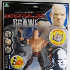 Figuras y Muñecos Pressing Catch: KANE DELUXE BUILD N' BRAWL WWE WRESTLING HERMANOS DE LA DESTRUCCION EL ENTERRADOR THE UNDERTAKER WWF. Lote 35067782