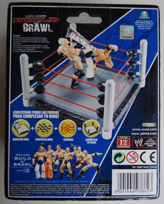 Figuras y Muñecos Pressing Catch: KANE DELUXE BUILD N BRAWL WWE WRESTLING HERMANOS DE LA DESTRUCCION EL ENTERRADOR THE UNDERTAKER WWF - Foto 2 - 35067782