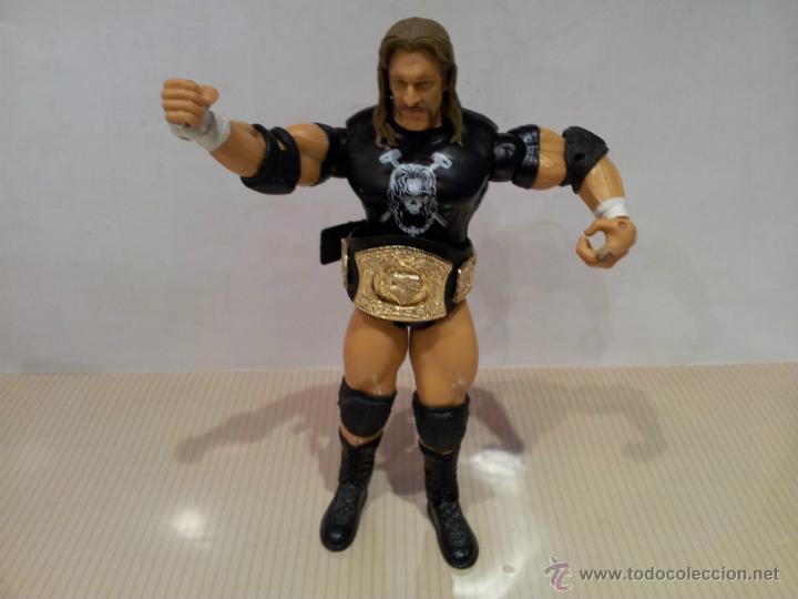FIGURA DE ACCION PRESSIG CATCH 2003 WWE.INC (Juguetes - Figuras de Acción - Pressing Catch)