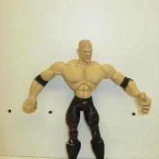 Figuras y Muñecos Pressing Catch: FIGURA PRESSING CATCH LUCHA LIBRE WWE JAKKS PACIFIC 2002 FLEXIBLE. Lote 39497394