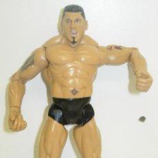 Figuras y Muñecos Pressing Catch: FIGURA PRESSING CATCH LUCHA LIBRE WWE JAKKS PACIFIC 1999. Lote 42679868