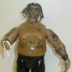 Figuras y Muñecos Pressing Catch: FIGURA PRESSING CATCH LUCHA LIBRE WWE JAKKS PACIFIC 2004. Lote 42806551