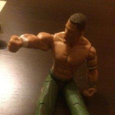 Figuras y Muñecos Pressing Catch: FIGURA ARTICULADA PRESSING CATCH, JOHN CENA. WWE, WWF. 18 CM. MUCHOS PUNTOS MÓVILES. JAKKS PACIFIC.. Lote 47571058