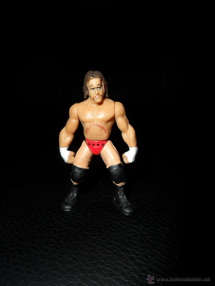 CM PUNK - PRESSING CATCH - WWE - FIGURA MICRO AGGRESSION - JAKKS - (Juguetes - Figuras de Acción - Pressing Catch)