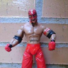 Figuras y Muñecos Pressing Catch: FIGURA 2005 WWE JAKKS PACIFIC REY MYSTERIO. Lote 50442999