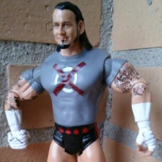 Figuras y Muñecos Pressing Catch: FIGURA WWE JAKKS PACIFIC 2004 RING RAGE CM PUNK . Lote 51029296