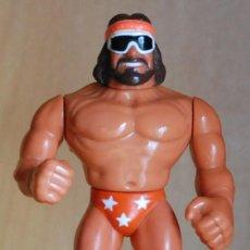 Figuras y Muñecos Pressing Catch: WWF PRESSING CATCH RANDY SAVAGE - MACHO MAN - TITAN SPORTS 1990. Lote 56466247