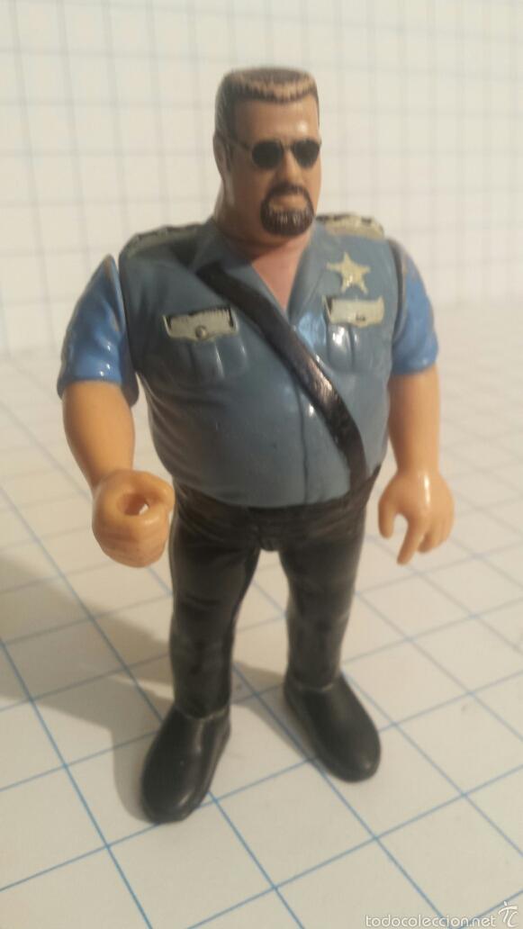 PRESSING CATCH. POLICÍA. WWE. AÑOS 90 (Juguetes - Figuras de Acción - Pressing Catch)