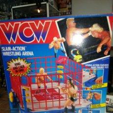Figuras y Muñecos Pressing Catch: RING WCW NUEVO. Lote 58232874