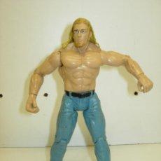 Figuras y Muñecos Pressing Catch: FIGURA PRESSING CATCH LUCHA LIBRE WWE TITAN TRON, JAKKS PACIFIC 1999. Lote 58365015