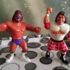 Figuras y Muñecos Pressing Catch: PRESSING CATCH WWF LOTE 2 FIGURAS. Lote 58489516