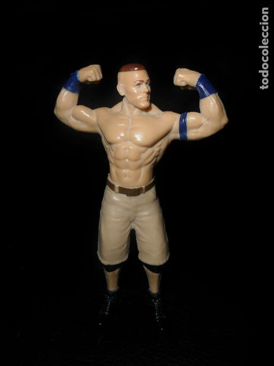 JOHN CENA - PRESSING CATCH - WWE - MATTEL - FIGURA PVC - (Juguetes - Figuras de Acción - Pressing Catch)