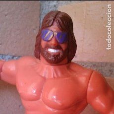 Figuras y Muñecos Pressing Catch: FIGURA WWE TITAN SPORTS 1991 MACHO MAN. Lote 79033289