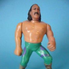 Figuras y Muñecos Pressing Catch: WWF JAKE THE SNAKE ROBERTS FIGURA HASBRO 1990. Lote 84873540