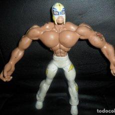 Figures and Dolls Pressing Catch - REY MYSTERIO FIGURA ELASTICA - PRESSING CATCH - WWE WWF - JAKKS - 93646725