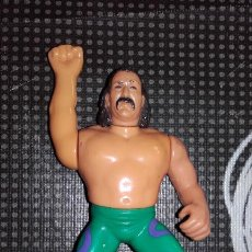 Figuras y Muñecos Pressing Catch: WWF WWE JAKE SNAKE ROBERTS EL SERPIENTE HASBRO PRESSING CATCH. Lote 118573255