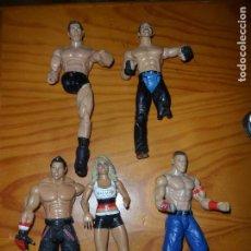 Figuras y Muñecos Pressing Catch: LOTE WWE DE WRESTLERS DEFECTUOSOS PARA CUSTOMIZAR O PARA PIEZAS . Lote 95702023