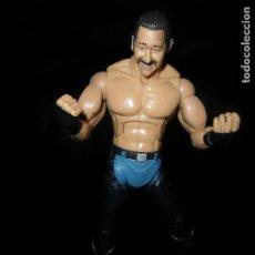 Figuras y Muñecos Pressing Catch: JAMES YUN, EL VAQUERO CHINO - DELUXE - PRESSING CATCH - WWE WWF - JAKKS. Lote 96744907