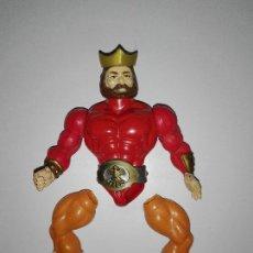 Figuras y Muñecos Pressing Catch: FIGURA MASTERS DEL UNIVERSO REY RANDOR KING MOTU HE-MAN MADE IN SPAIN PDP. Lote 107005484