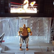 Figuras y Muñecos Pressing Catch: WWE YOKOZUNA MATTEL ELITE WRESTLING ACTION FIGURE HALL OF FAME SERIES 2 . Lote 98343711