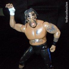 Figuras y Muñecos Pressing Catch: UMAGA, FIGURA DELUXE - PRESSING CATCH - WWE WWF - JAKKS. Lote 100287491