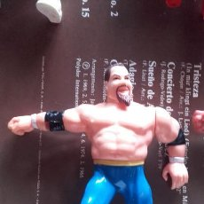Figuras y Muñecos Pressing Catch: ANVIL HART FUNDATION WWE WWF HASBRO TITAN SPORTS. Lote 118573508