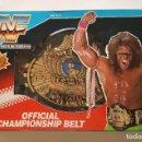 Figuras y Muñecos Pressing Catch: 1990 (HASBRO) VINTAGE: WWF CINTURÓN CHAMPIONSHIP ÚLTIMO GUERRERO / NUEVO EN CAJA - DE ALMACÉN - WWE. Lote 104074967