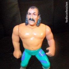 Figuras y Muñecos Pressing Catch: SNAKE ROBERTS - PRESSING CATCH , WWF WWE, HASBRO 1990. FUNCIONANDO. Lote 106042139