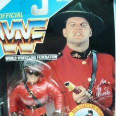 Figuras y Muñecos Pressing Catch: WWF WWE: THE MOUNTIE SERIE 5 WRESTLING DE HASBRO AÑO 1992. ¡¡NUEVA. !! IMPECABLE.. Lote 109095563