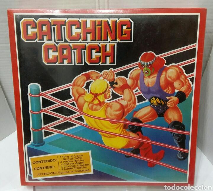 RING CATCHING CATCH FALOMIR. NUEVO EN CAJA. PRECINTADO. WHEELED WARRIORS. REF 5500. 1990. WWF. (Juguetes - Figuras de Acción - Pressing Catch)