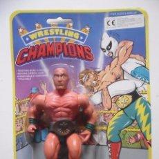 Figuras y Muñecos Pressing Catch: WRESTLING CHAMPIONS MASK MOTU WWF BOOTLEG KO FIGURA EN BLISTER. Lote 113152151